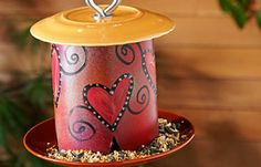 DIY birdfeeder cool!