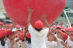 Undoukai- Red Team Race by Pam S O, via Flickr