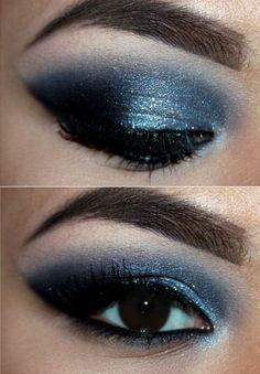 winter wonderland eye makeup