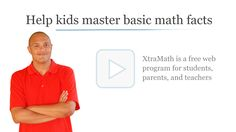 XtraMath - website for learning math skills