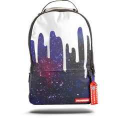 All Backpacks | Sprayground Backpacks, Bags, and Accessories ❤ liked on Polyvore featuring bags, backpacks, knapsack bag, day pack backpack, blue bag, daypack bag and rucksack bags