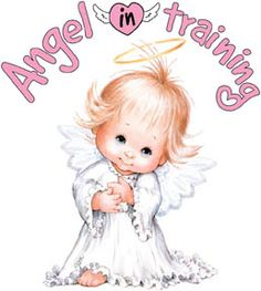 "Angel in Training. Repinned by An Angel's Touch, LLC, d/b/a WCF Commercial Green Cleaning Co. ""Denver's Property Cleaning Specialists"" http://www.angelsgreencleaning.net"