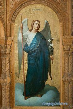 ángel de la pureza Saint Gabriel, Angel Warrior, Garden Angels, Angel Aesthetic, Angel And Devil, Angels Among Us, Archangel Michael, Orthodox Icons, Angel Art