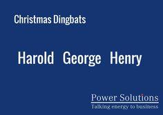 Power Solutions UK - Christmas Dingbat no 20