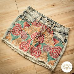 Saia jeans florida.  #saia #jeans #flores #lancamento #pimpolho