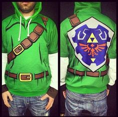 The Legend of Zelda Hoodie -- must make/find!!