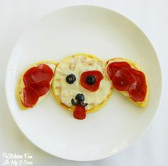 Kitchen Fun With My 3 Sons: Eggo Puppy Pepperoni Pizza! #EggoWaffleOff