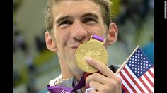 A record 19th medal for Michael Phelps. Simply amazing!