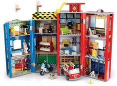 Endlich! Ein Puppenhaus für Jungen,  Helden des Alltags , von Kidkraft