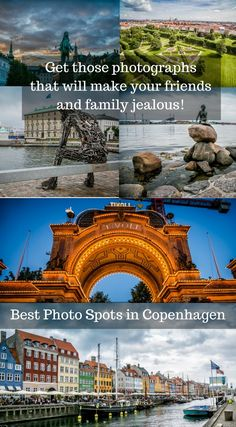 Best Photo Spots In Copenhagen Denmark. Copenhagen has it all to offer for all types of photographers. It does not matter if your someone who takes photos for fun or if you're a travel professional who is looking for those best photo spots in Copenhagen. Click to read the full Travel Blog Post at http://www.divergenttravelers.com/best-photo-spots-in-copenhagen/