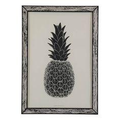 The Prints by Marke Newton A3 - Zwarte Ananas