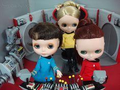 STAR TREK - BLYTHES IN SPACE.aaaaaiiiiiieeeeeeee...love it