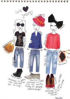 MODE Polyvore, Fashion, Fashion Styles, Moda, Fashion Illustrations