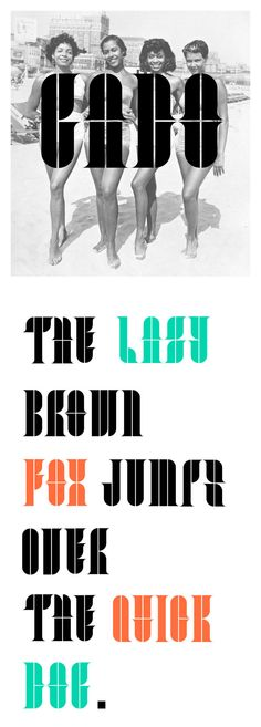 GADO - Modular free Typeface