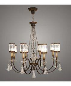 Fine Art Lamps 585240 Eaton Place 43 Inch Chandelier | Capitol Lighting 1-800lighting.com