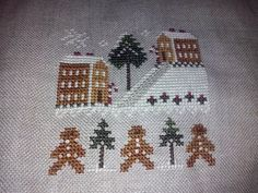 This is my yesterday-finish. From the Little House Needleworks 2011 Christmas Ornaments series. Have a nice embroidery day!! Created by: Gr. Otje Kooiman Little House Needleworks, Hand Embroidery, Your Favorite, It Is Finished, Make It Yourself, Christmas Ornaments, Nice, Day, How To Make