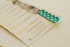 """Cute Business cards: I like the colors and """"handmade"""" touch of the fabric"""