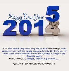 Feliz 2015 Feliz Ano Novo Boas Festas - Rede Aliança
