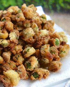 Southern Fried Okra - my all-time favorite veggie!