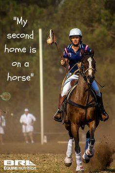 """My second home is on a horse"". horse quote #BRLequine #athomeinthesaddle #equestrian #horses #EQroyal #UnLock"