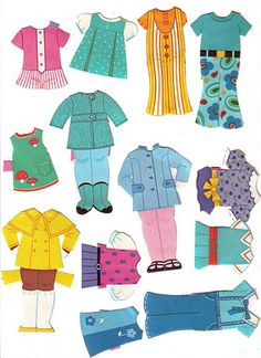 Paper Dolls~6 friends - Bonnie Jones - Picasa Web Albums