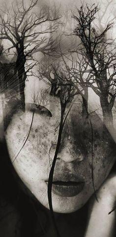 La chica de los arboles - Antonio Mora Photography – Fubiz™