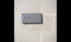 Room Sign with Braille, Yale University Art Gallery Signage, Open