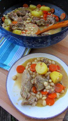 une aiguille dans l' potage: Ragoût de veau aux cocos de Paimpol