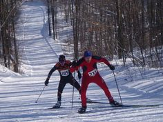 Lakewood's cross-country ski trails offer a rustic, quiet experience