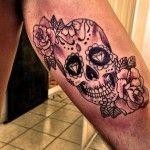 Significado da Tatuagem de Caveira Mexicana