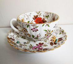 Vintage Radfords Fenton - The Gatineau - Fine Bone China Teacup Set