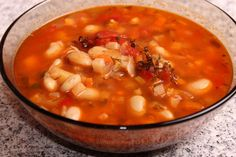 Ciorbă de fasole cu cimbru Chana Masala, Cookie Recipes, Meals, Cooking, Ethnic Recipes, Soups, Kitchens, Recipes For Biscuits, Cookies
