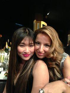 Jenna Ushkowitz & Vanessa Lengies - SAG Awards 2013