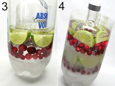 diy ice bottle cooler … good for wine/vodka, whatever you need to keep chilled