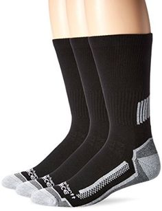 Carhartt Men's 3 Pack Force Performance Work Crew Socks at Amazon Men's Clothing store:
