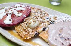 Pancake flight at Snooze | Kirbie's Cravings | A San Diego food blog