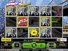 Jack Hammer 2 – NetEnt Slots