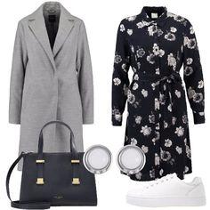 L abito floreale  outfit donna Trendy per tutti i giorni  1f4cf32192b