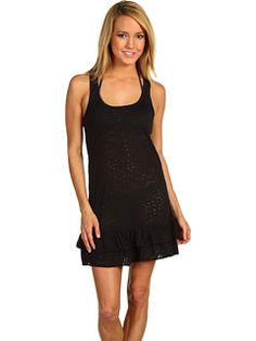 How much black is too much? $42.00 {body glove paige tank dress - zappos}