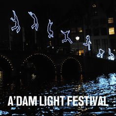 Sloep Amsterdam Light Festival