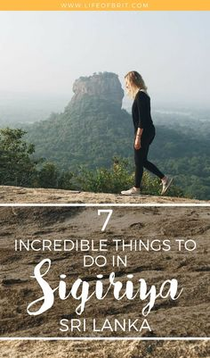 A guide to the best things to do in Sigiriya, Sri Lanka!
