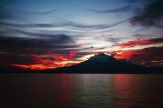 burning sunset...