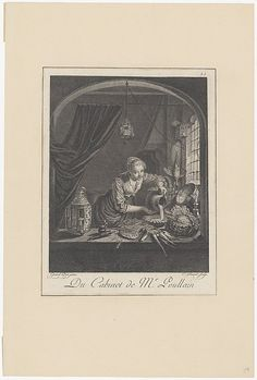 After Gerrit Dou (Dutch, 1613–1675). Milkmaid after the painting of G.Dou in the Cabinet of Mr. Poullain, mid 17th century. The Metropolitan Museum of Art, New York. Harris Brisbane Dick Fund, 1917 (17.3.1771)