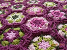 Ravelry: banudemirel's The new blankie of flowers