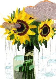Flowers for a rainy day - AnnitaSobleWorks