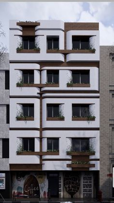 Modern Exterior, Interior Exterior, Exterior Design, Brick Architecture, Architecture Details, Modern Residential Architecture, Building Facade, Building Design, Retail Facade