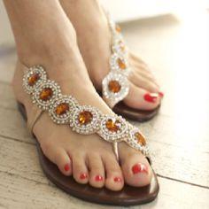 Cute sandals!