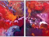IMAGINATION - Diptychon All Inclusive Urlaub, Imagination, Painting, Art, Kunst, Art Background, Fantasy, Painting Art, Paintings