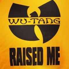 WU Tang Raised Me Macklemore t shirt