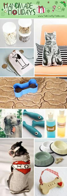 Handmade Gift Guide: Gifts for The Pet Lover